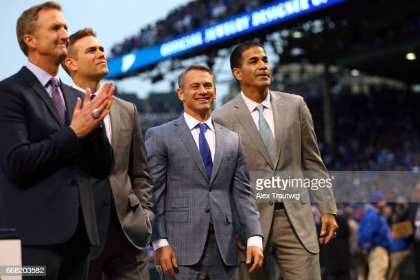 Chicago Cubs President of Business Operations Crane Kenney President of Baseball Operations Theo Epstein General Manager Jed Hoyer and Senior Vice...