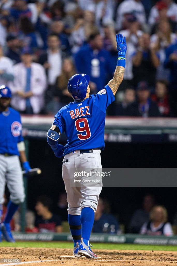 MLB: NOV 02 World Series - Game 7 - Cubs at Indians Pictures | Getty ...