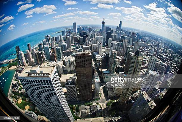 chicago downtown - ken ilio stock pictures, royalty-free photos & images