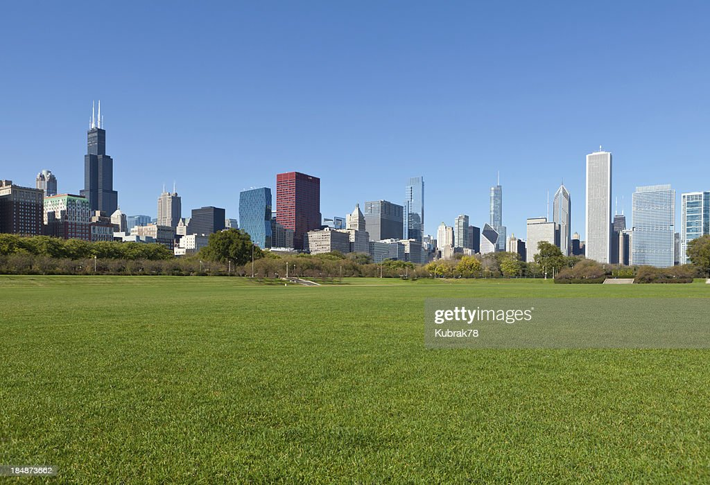 Chicago Downtown : Stock Photo