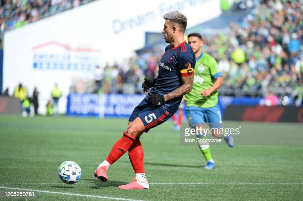 Chicago Fire captain Francisco Calvo in action during a MLS match between the Chicago Fire and the Seattle Sounders at Century Link Field in Seattle...