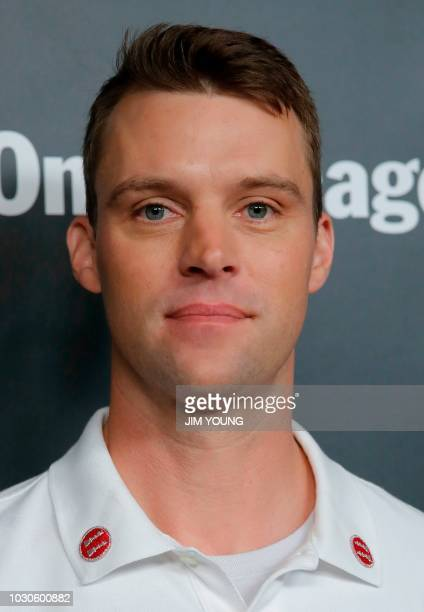 'Chicago Fire' cast member Jesse Spencer arrives on the red carpet for the 4th Annual OneChicago Press Day in Chicago September 10 2018