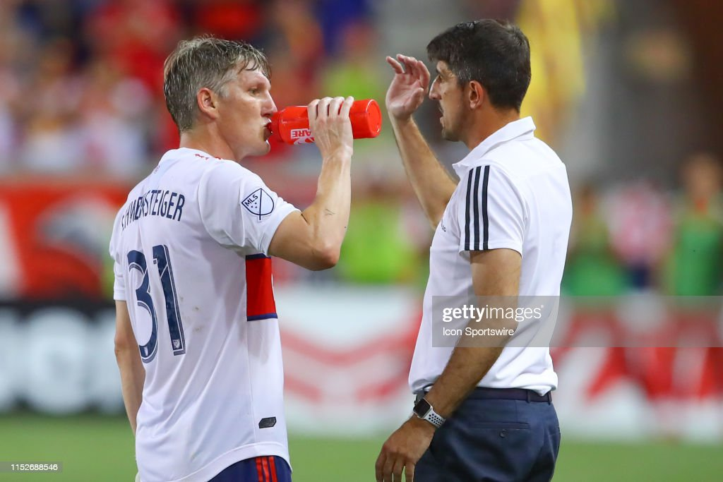 SOCCER: JUN 28 MLS - Chicago Fire at New York Red Bulls : News Photo