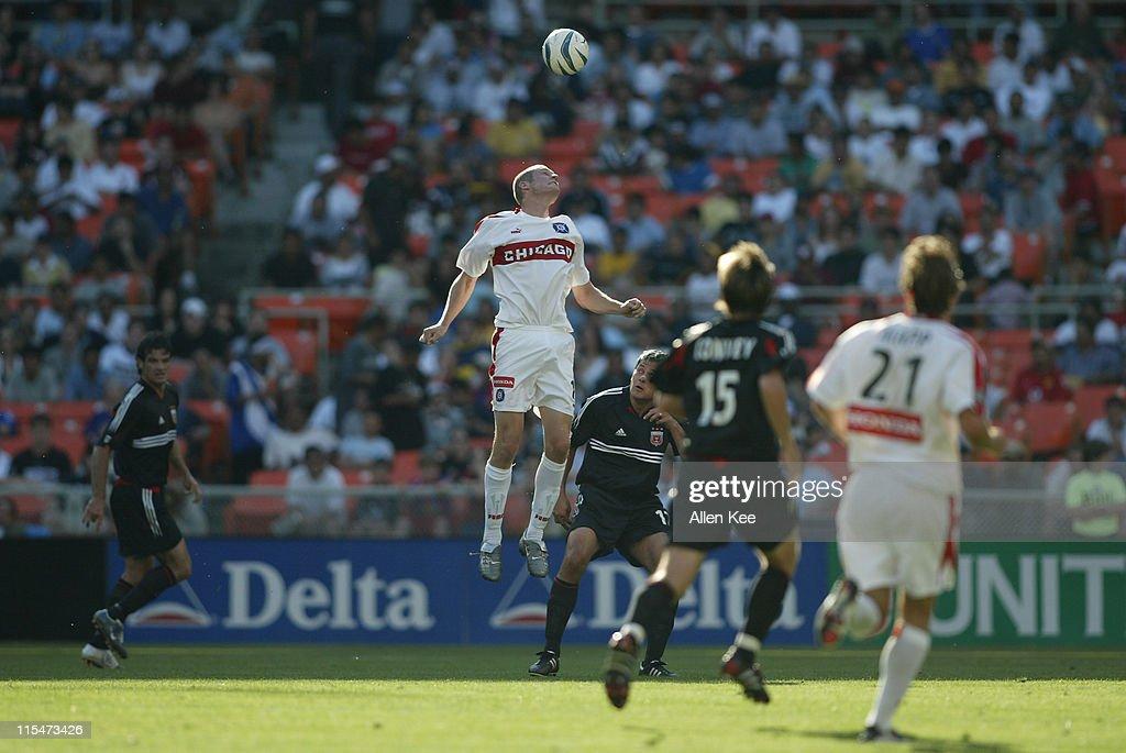 MLS - DC United vs Chicago Fire - April 24, 2004