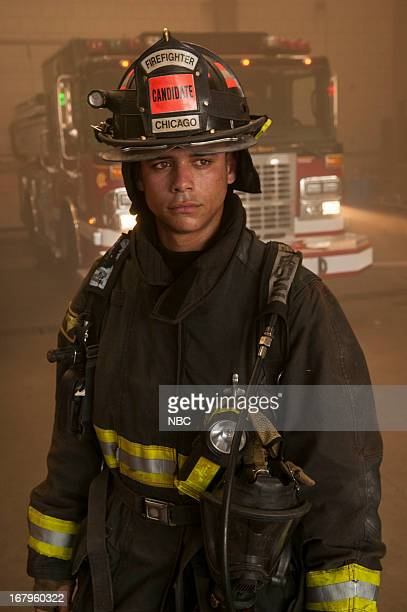 FIRE Chicago Fire Training with CFD Pictured Charlie Barnett