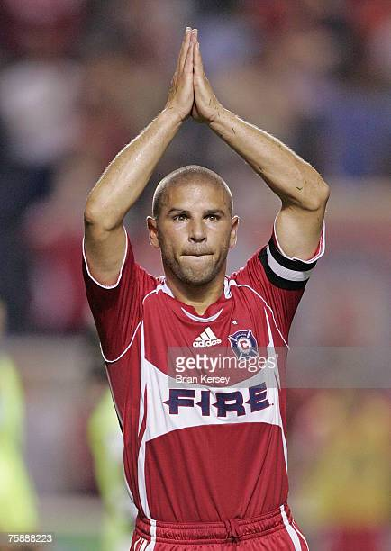 Chicago Fire's Chris Armas during game against the New York Red Bulls at Toyota Park in Bridgeview, Illinois on Sunday, September 3, 2006. The Fire...
