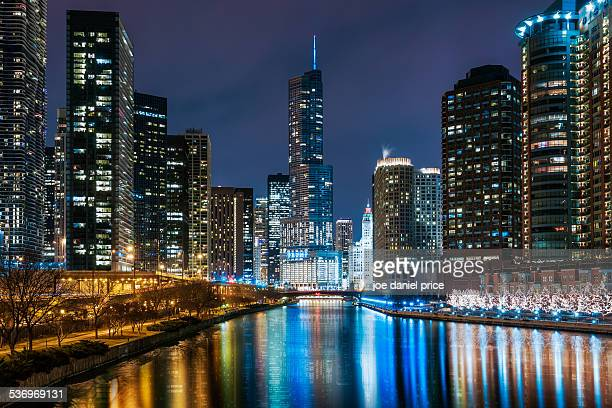 Chicago From Outer Drive Bridge, Illinois, US