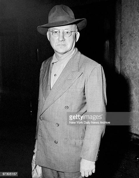 Chicago gangster Harry Strom at Felony Court for a holdup murder in Cleveland