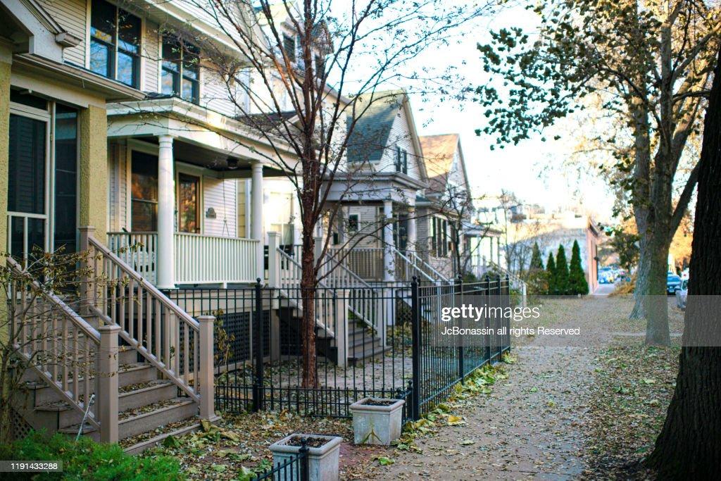 Chicago Homes : Stock Photo