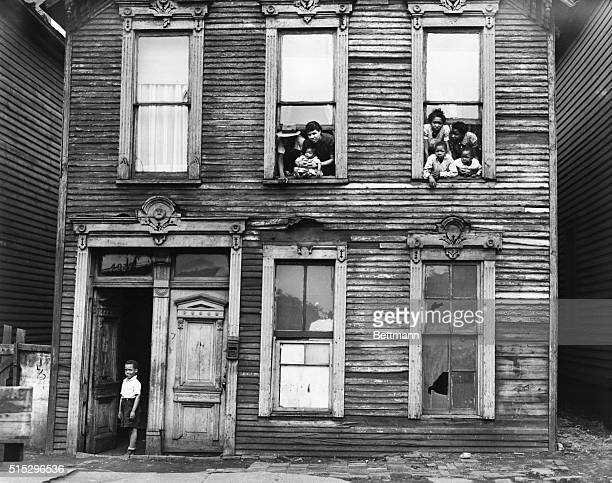 House in the Chicago Negro slums Photograph 1941