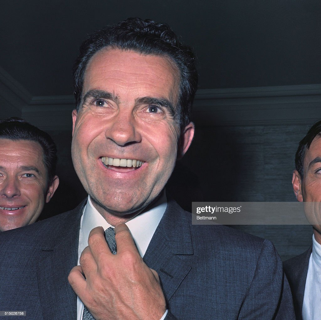 Richard Nixon Nominated for President at Republican National Convention : News Photo