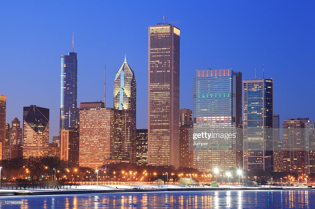 Chicago, Illinois : Bildbanksbilder