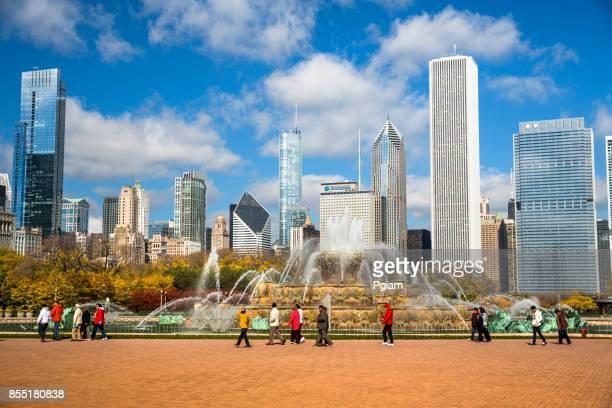 Chicago, Illinois USA Buckingham Fountain