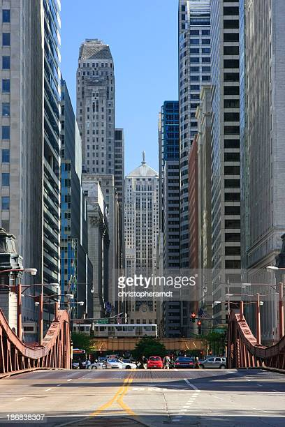 Chicago LaSalle Boulevard and Board of Trade
