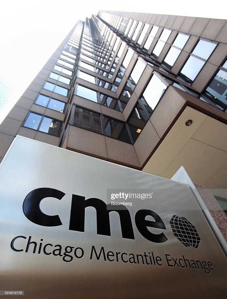 The Chicago Mercantile Exchange : News Photo