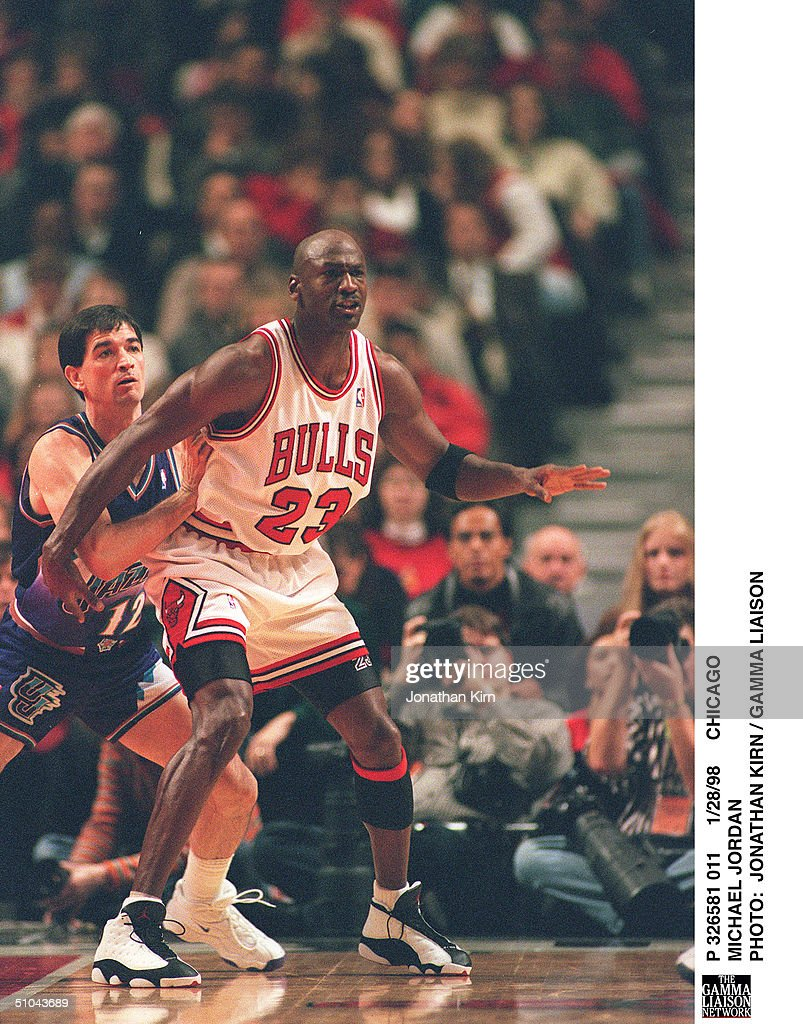 Chicago Michael Jordan : News Photo