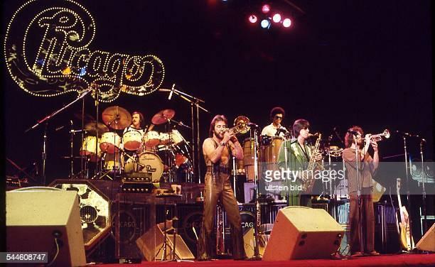 Chicago Musikgruppe Rockmusik USA Auftritt 1976