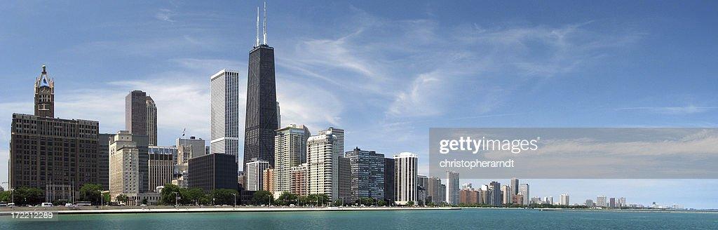 Chicago North Skyline Panorama : Stock Photo
