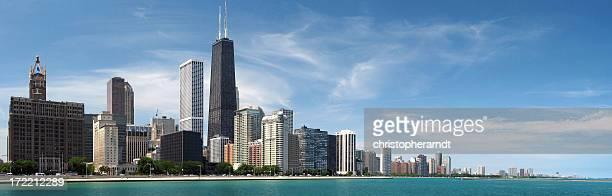 Chicago North Skyline Panorama