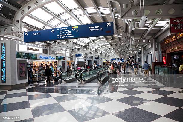 chicago o'hare international airport - ohare airport stock pictures, royalty-free photos & images