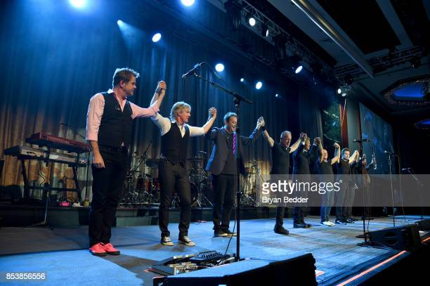 Chicago performs at the 32nd Annual Great Sports Legends Dinner To Benefit The Miami Project/Buoniconti Fund To Cure Paralysis at New York Hilton...
