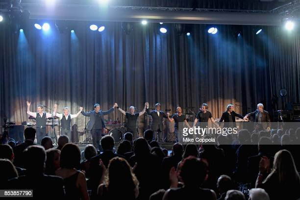 Chicago performs onstage during the 32nd Annual Great Sports Legends Dinner To Benefit The Miami Project/Buoniconti Fund To Cure Paralysis at New...