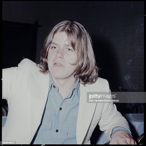 Chicago Peter Cetera press conference on their visit to Japan Tokyo June 1971