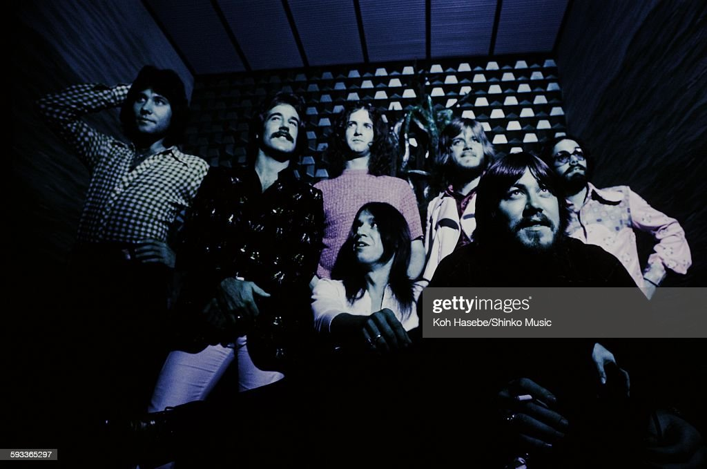 Chicago photo session at hotel in Tokyo, June 1972.