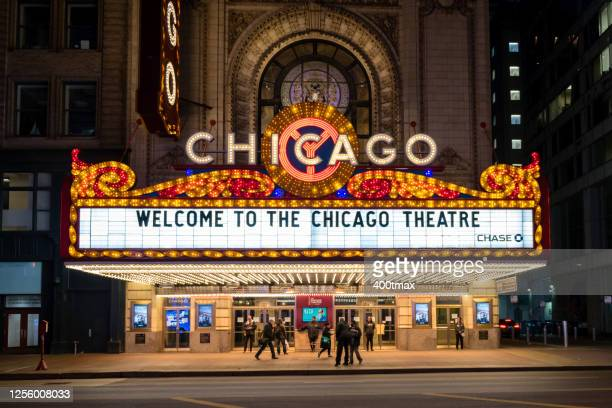 chicago - chicago theater stock pictures, royalty-free photos & images
