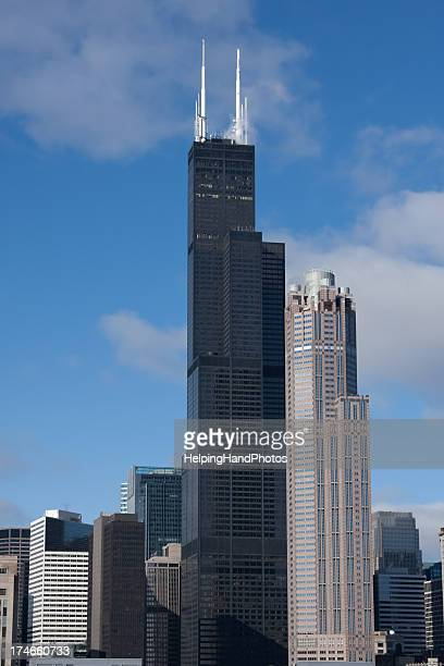 chicago - willis tower stock photos and pictures