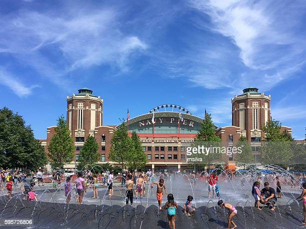 chicago - navy pier stock pictures, royalty-free photos & images