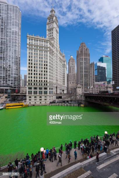 chicago - wacker drive stock photos and pictures