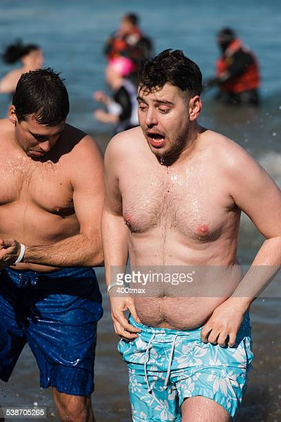 chicago polar plunge - chicago polar plunge stock pictures, royalty-free photos & images