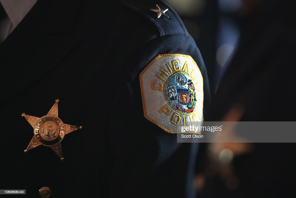 Graduation Ceremony Held For 363 New And Promoted Chicago Police Officers : News Photo