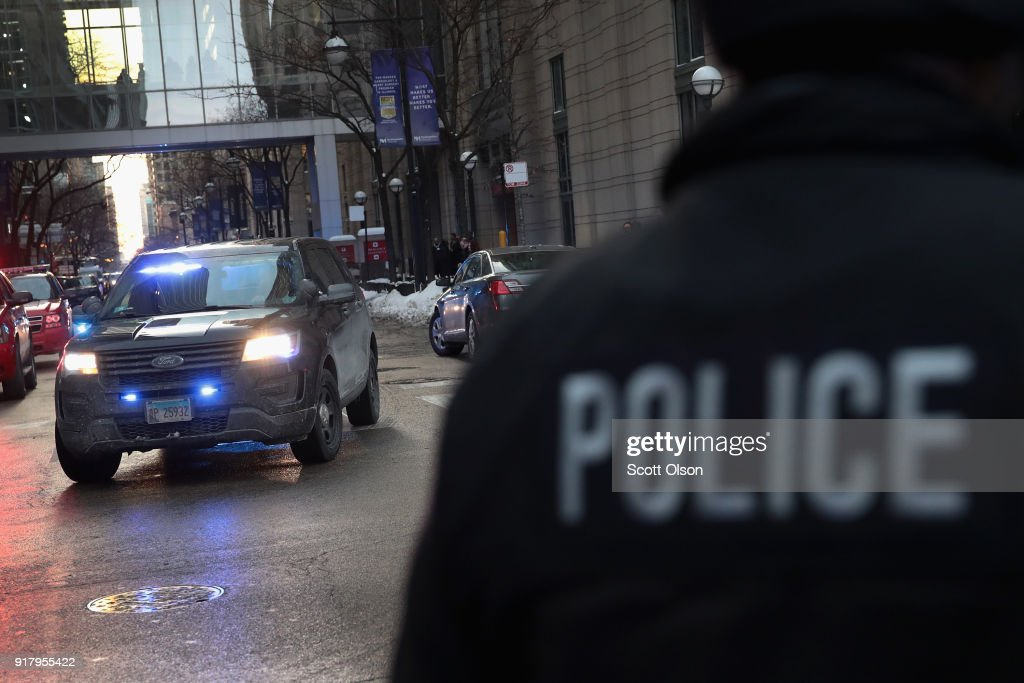 Police Commander Shot And Killed In Downtown Chicago : News Photo