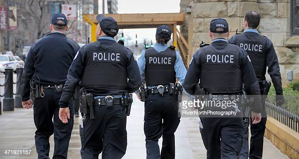 Chicago Police Officers On Patrol