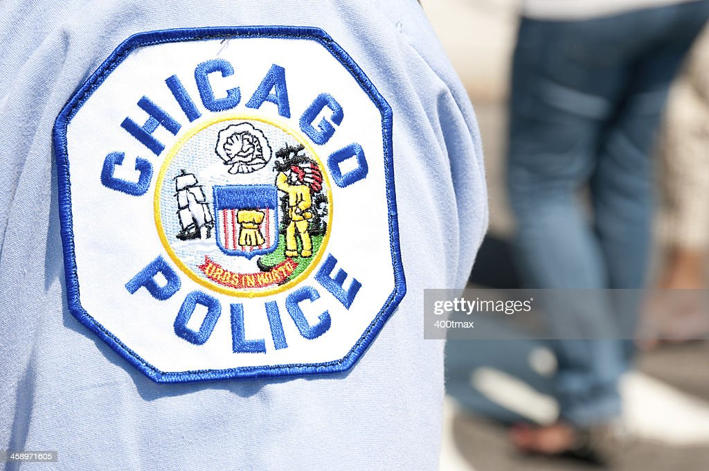 Chicago police patch : Stock Photo