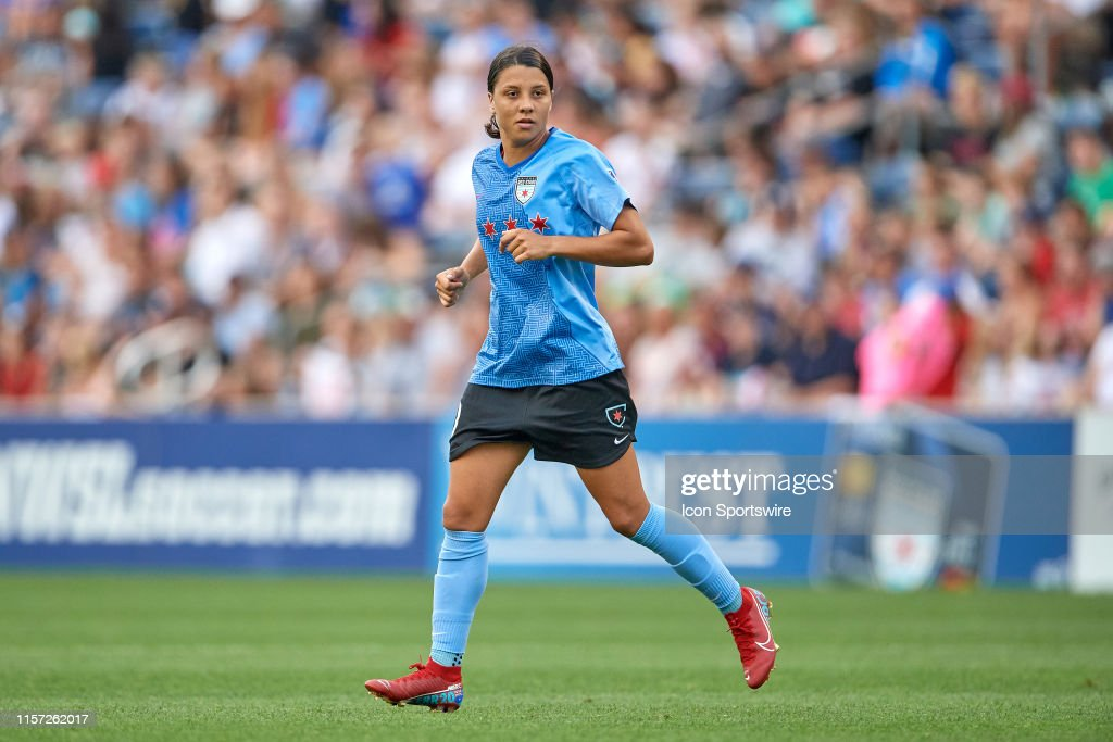 SOCCER: JUL 21 NWSL - NC Courage at Chicago Red Stars : News Photo