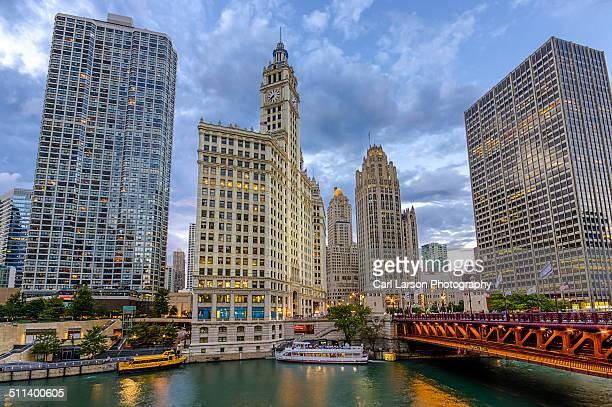 Chicago River and Michigan Avenue