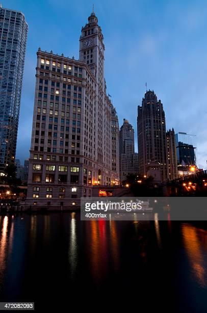 Fluss Chicago River
