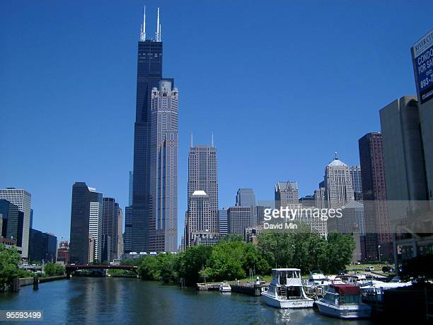 chicago - sears tower - willis tower stock photos and pictures
