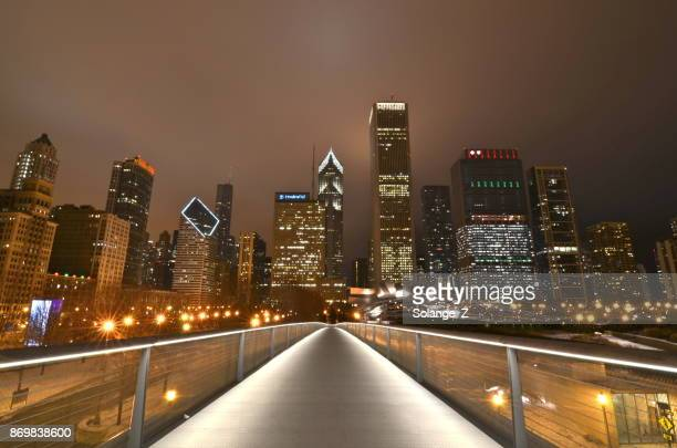 Christmas In Chicago Skyline.World S Best Chicago Christmas Stock Pictures Photos And