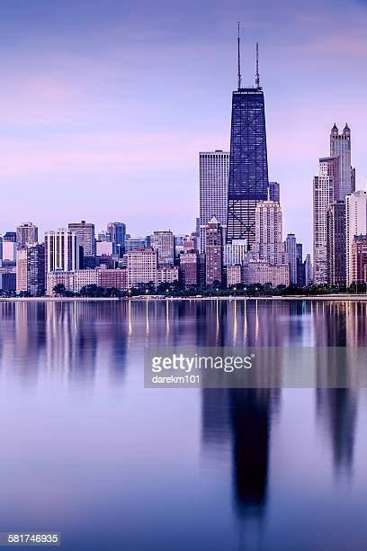 Chicago Skyline, Illinois, USA