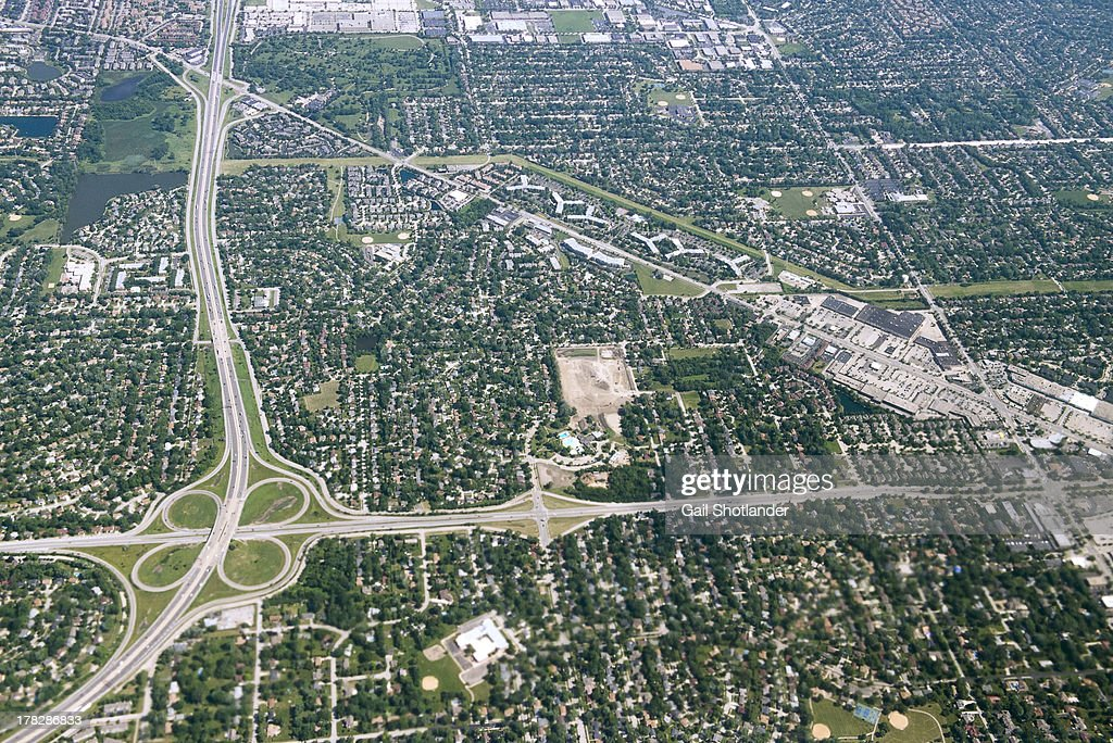 Chicago Suburbs : Stock Photo