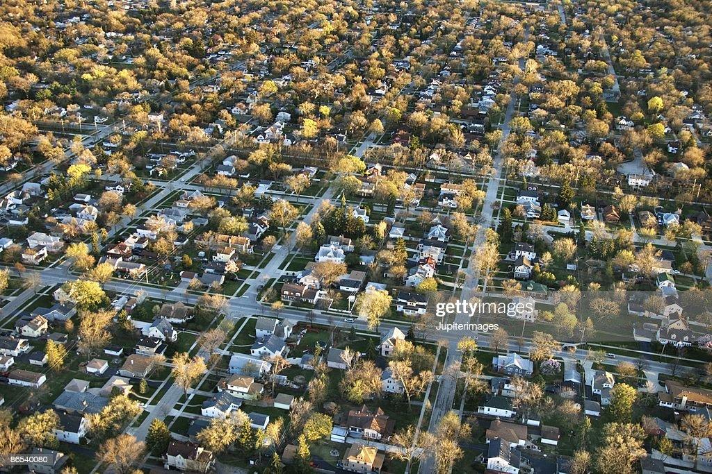 Chicago suburbs : Stock Photo
