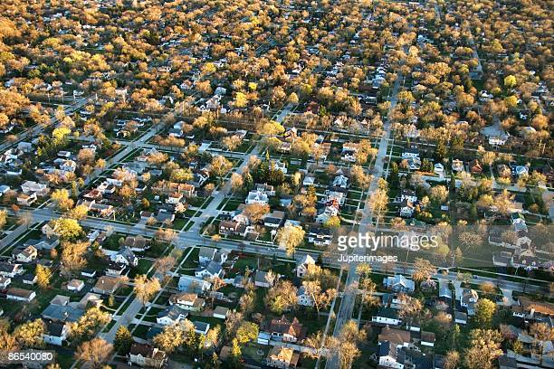 chicago suburbs - cook county illinois stock photos and pictures