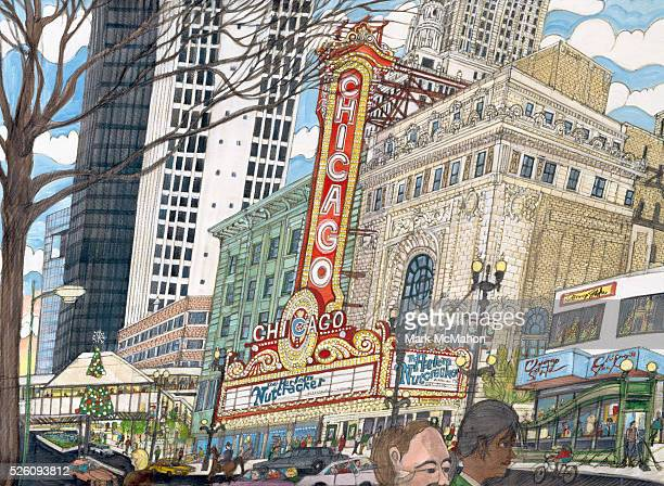 Chicago Theater by Mark McMahon