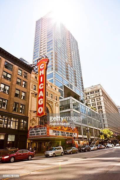 chicago theater - illinois - fotografias e filmes do acervo
