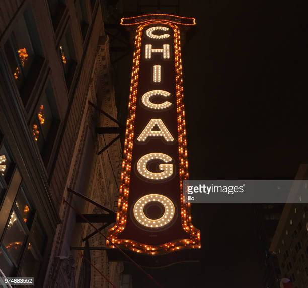 chicago theater - chicago theater stock pictures, royalty-free photos & images