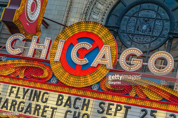 chicago theater, usa - chicago theater stock pictures, royalty-free photos & images